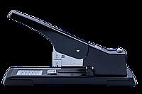 Степлер металлический усиленной мощности, 100 листов, скобы №23, черный, Buromax