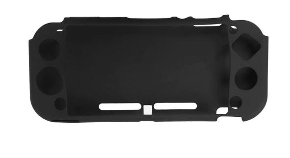 Силиконовый мягкий чехол для Nintendo Switch Lite / Есть стекла / чернНет в наличии