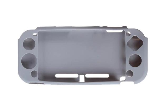 Силиконовый мягкий чехол для Nintendo Switch Lite / Есть стекла / серыНет в наличии