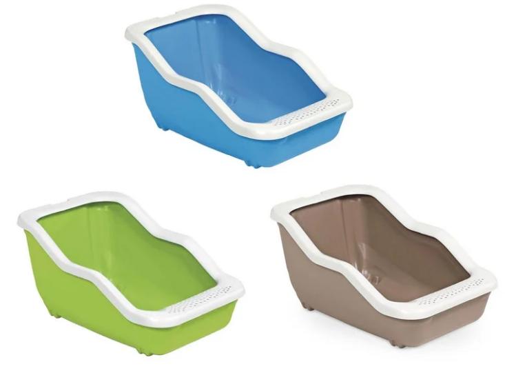 Туалет NETTA OPEN відкрітий пластиковий для котів,  54x39x29 см