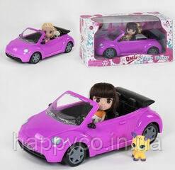 Детская Кукла с машиной и питомцем, аксессуары, игрушка для девочек