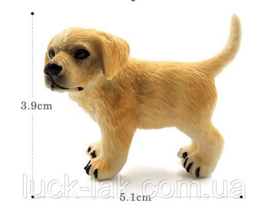 Собачка, фигурка для куклы, миниатюр