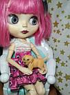 Собачка, фигурка для куклы, миниатюр, фото 2