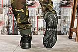 Кроссовки мужские 15516, Adidas Yung 1, черные [ 42 ] р.(42-26,5см), фото 3