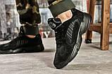 Кроссовки мужские 15516, Adidas Yung 1, черные [ 42 ] р.(42-26,5см), фото 4