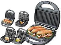 Бутербродница, вафельница, орешница, тостер гриль (4 в 1) Livstar LSU-1219