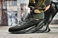 Кроссовки мужские 15581, Adidas Sharks, черные, < 41 43 44 45 > р. 41-26,5см., фото 1