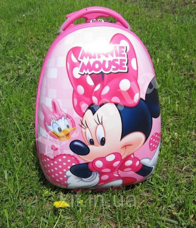 "Детский чемодан 16"" на колесах Minnie Mouse"