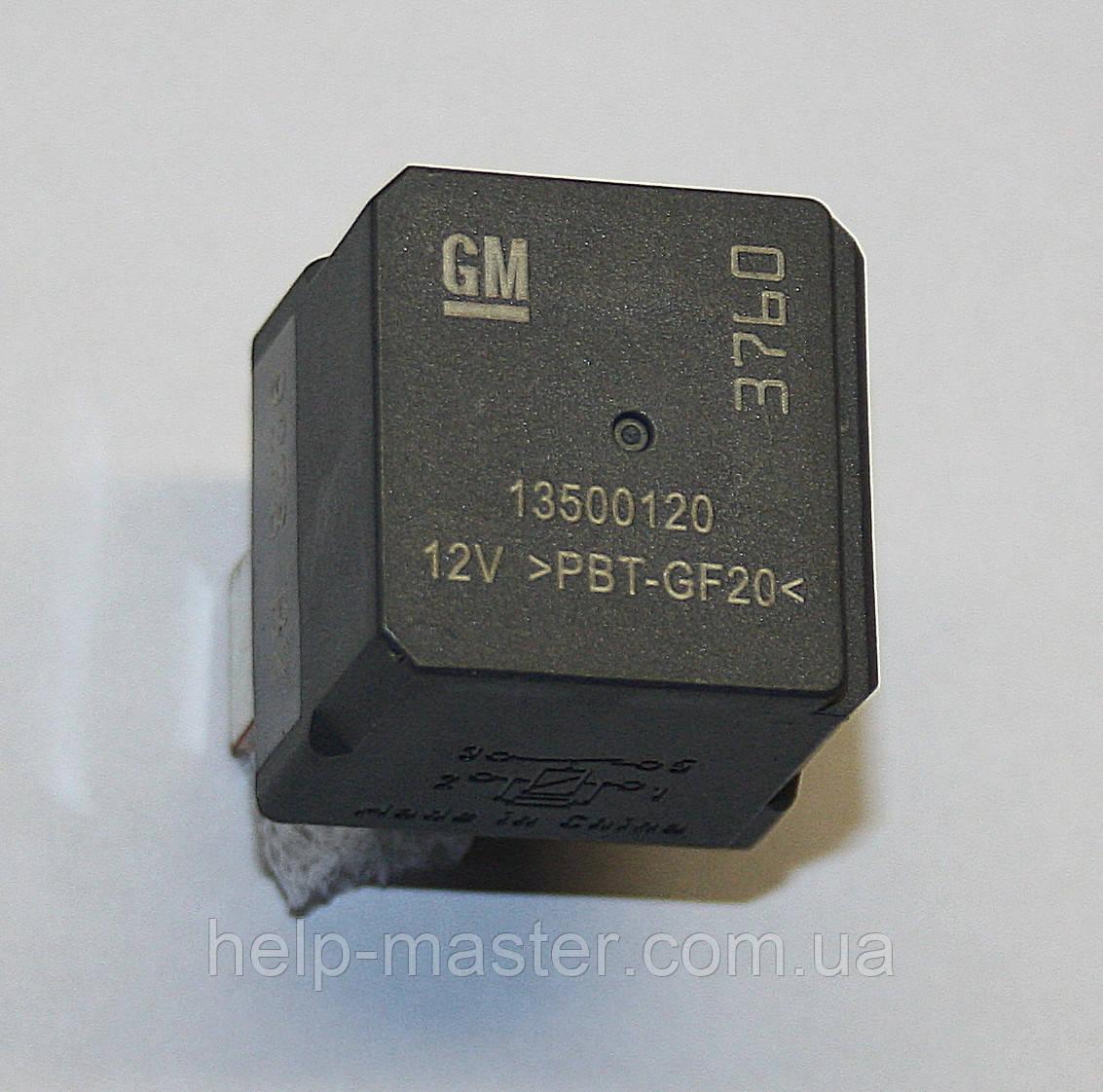 Авто реле 13500120 12V-PBT-GF20 (12VDC)