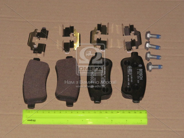 Колодки тормозные дисковые, комплект  (Пр-во Bosch)