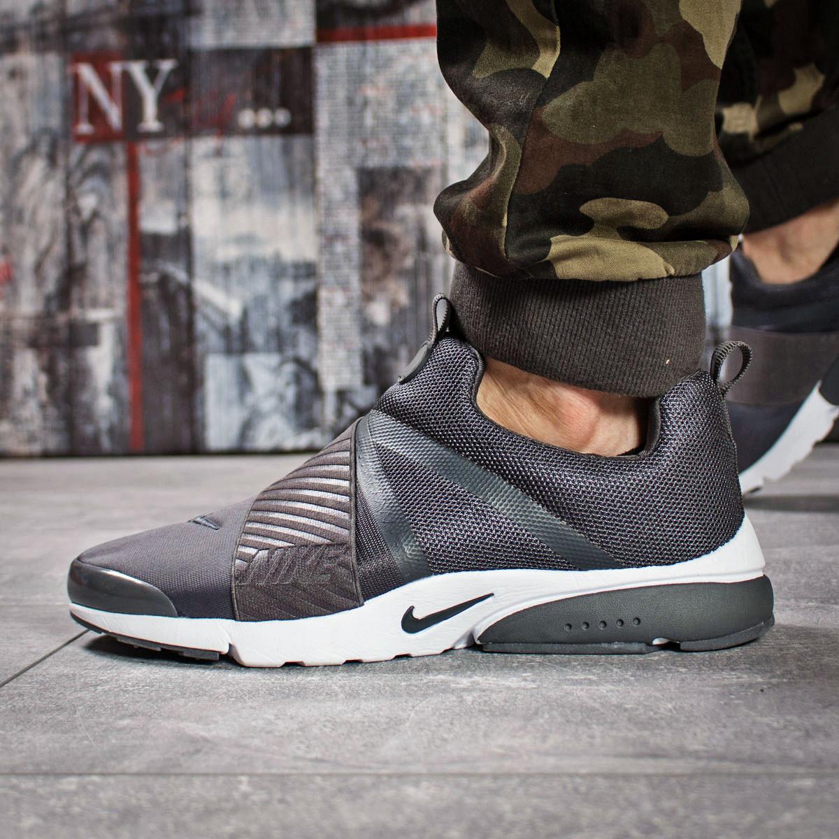 Кроссовки мужские 15922, Nike Air, темно-серые, < 43 > р. 43-27,5см.