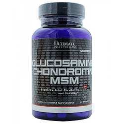 Ultimate Nutrition Glucosamine Chondroitin MSM 90 таб