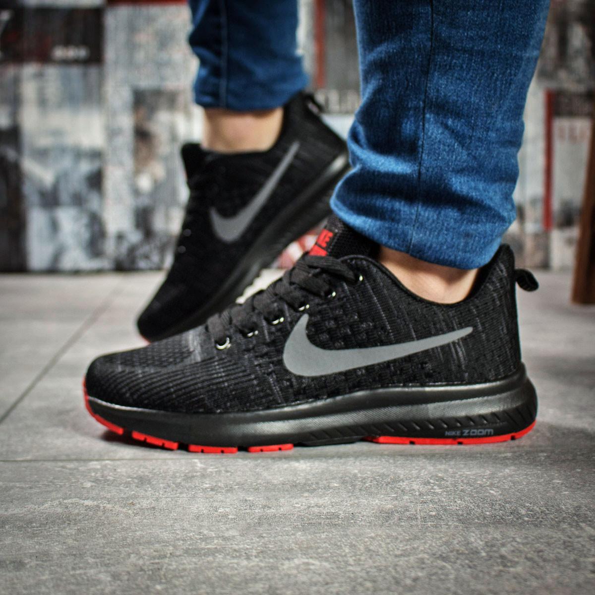 Кроссовки женские 16002, Nike Zoom Pegasus, черные, < 36 > р. 36-23,0см.