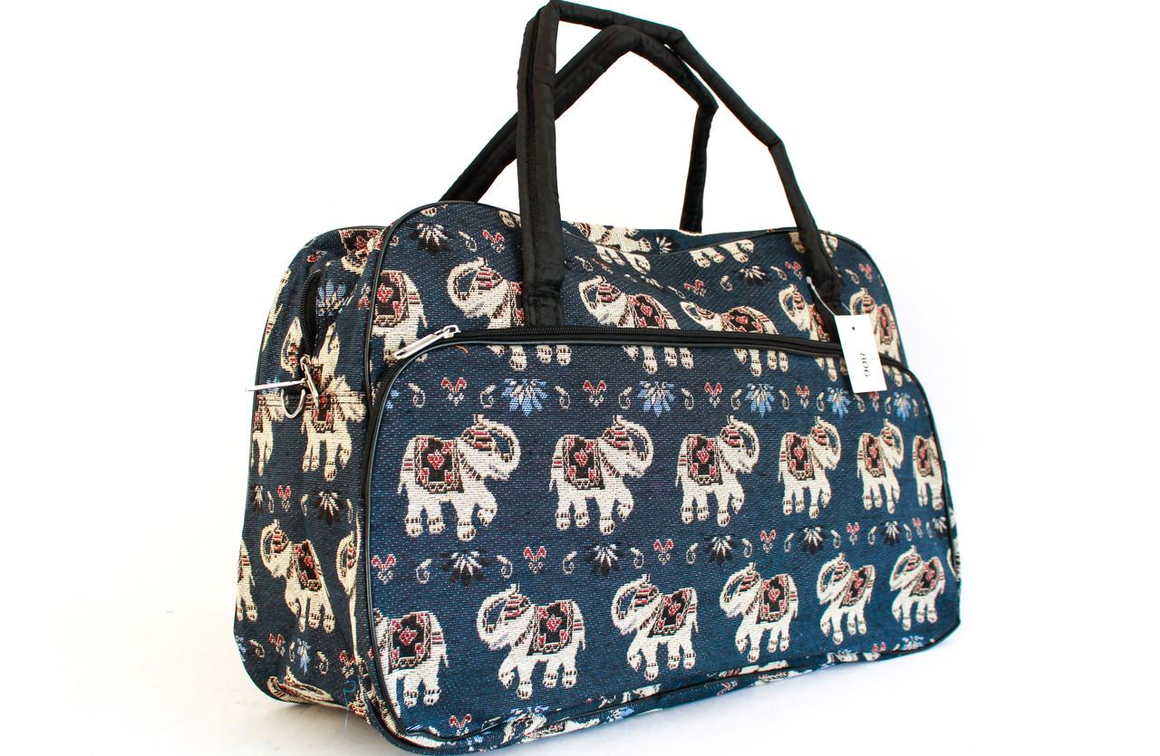 Женский саквояж, сумка с рисунками YR 806 (50 см)