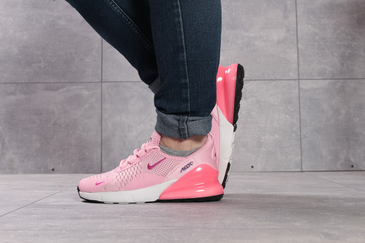 Кроссовки женские 16052, Nike Air 270, розовые, < 38 > р.38-24,0