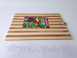 Дошка обробна бамбукова 32*45 см, t=1,5 cm.