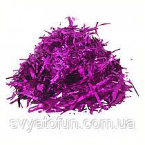 Конфетти Мишура, цвет малиновый металлик, 250 г