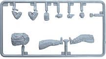 Набор пластиковых фигур для сборки. Советский экипаж танка в зимней форме 1970-80 гг. MINIART 37063, фото 3