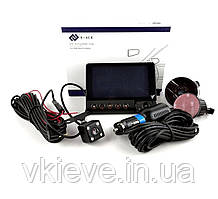 """Видеорегистратор на 3 камеры с видеопарковкой,экран 4"""" дюйма (Р-516)"""