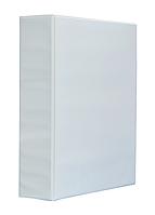 "Папка ""Панорама"" A4, ширина торца 70 мм, белый, Panta Plast, 0316-0026-09"