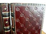 Оригинальный кожаный блокнот ежедневник ручная работа винтажный формат а5, фото 3