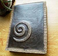 Скетчбук в кожаной обложке, фото 1