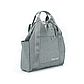 Рюкзак для Путешествий Дорожный Ручная Оксфорд Кладь Dream Travel (DT-08-3-007) Унисекс Серый, фото 2