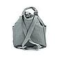 Рюкзак для Путешествий Дорожный Ручная Оксфорд Кладь Dream Travel (DT-08-3-007) Унисекс Серый, фото 5