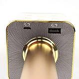 Микрофон караоке Tuxun беспроводной bluetooth золотой Q7 MS SKL11-130336, фото 3