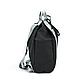 Рюкзак для Путешествий Дорожный Ручная Оксфорд Кладь Dream Travel (DT-08-3-007) Унисекс Черный, фото 4