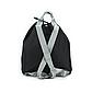 Рюкзак для Путешествий Дорожный Ручная Оксфорд Кладь Dream Travel (DT-08-3-007) Унисекс Черный, фото 5
