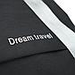Рюкзак для Путешествий Дорожный Ручная Оксфорд Кладь Dream Travel (DT-08-3-007) Унисекс Черный, фото 7