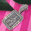 Серебряный кулон Серафим Саровский - Серебряная иконка ладанка Святой Серафим, фото 3