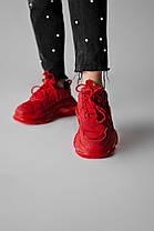 """Кроссовки Balenciaga Triple S """"Красные"""", фото 3"""