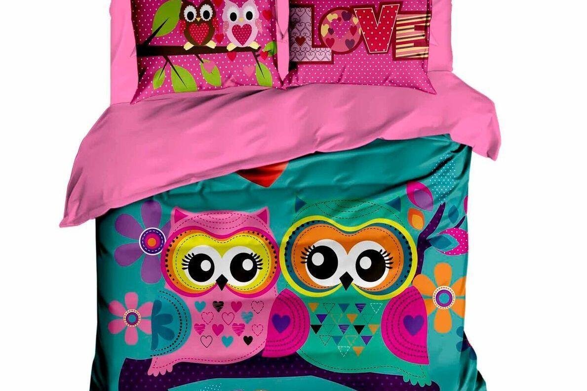 Постельное белье 2-спальное евро LIGHTHOUSE Owls In Love