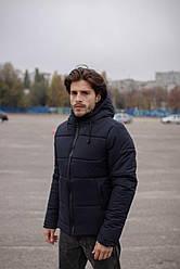 """Куртка мужская короткая зимняя Intruder """"Glacier"""" синяя в размере S M L XL XXL"""