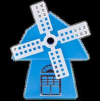 Точилка для карандашей МЕЛЬНИЦА, механическая, пл. Коробка, KIDS Line