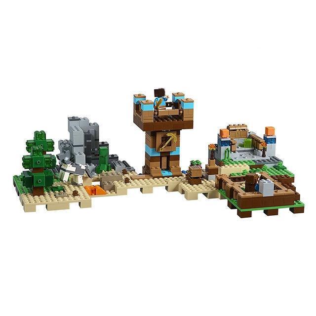 Конструктор Lepin Minecraft 18030 Хижина на острове(аналог Lego Майнкрафт), 664 деталей