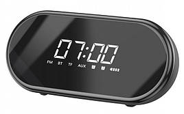Аудіо настільний годинник Baseus Encok E09 Wireless Speaker Чорний (NGE09-01)