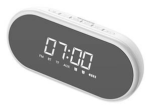 Аудио настольные часы Baseus Encok E09 Wireless Speaker White (NGE09-02), фото 2
