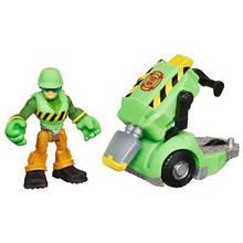 Волкер Кливленд c пневматическим молотком Боты спасатели, Walker, Jackhammer, Rescue Bots, Hasbro SKL14-143417