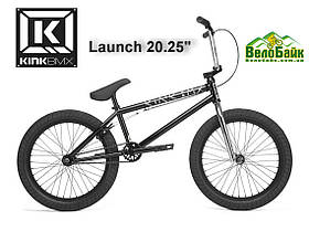 "Велосипед ВМХ 20"" KINK BMX Launch 20.25 2020 чорний K420BLK20"