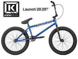 """Велосипед ВМХ 20"""" KINK BMX Launch 20.25 2020 синій K420GDBLU20"""