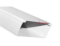 Кабель-канал с 2-ым замком SOKOL 100х60 (16) пластик Standard белый