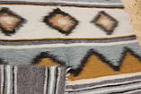Лижнык Карпатский плед Горы Карпаты 100% овечья шерсть  150 х 200 см, фото 5