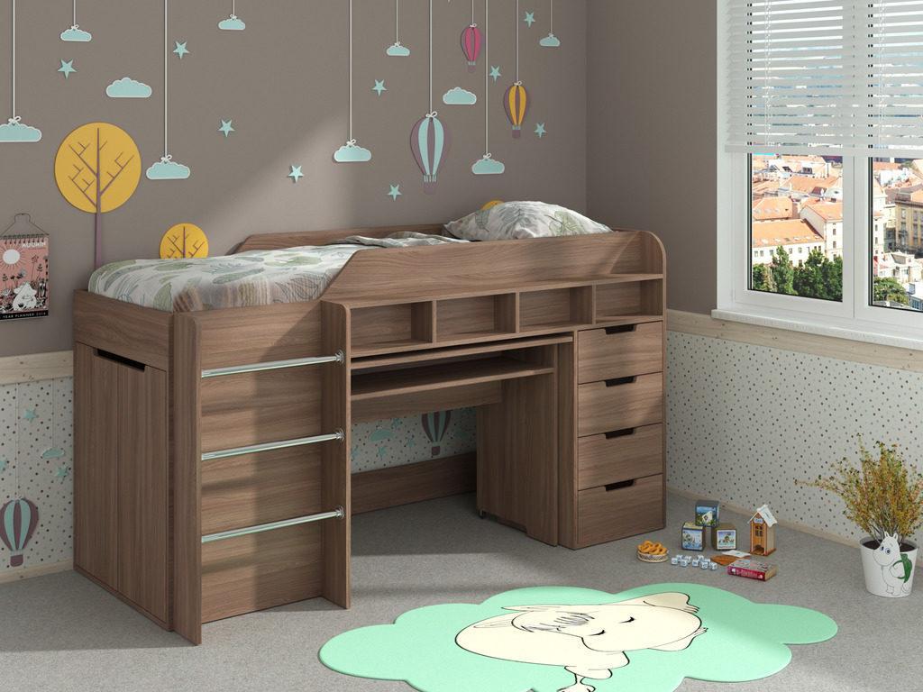 Детская кровать чердак Легенда