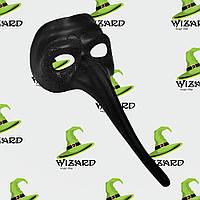 Венеціанська маска доктор чорна Чума