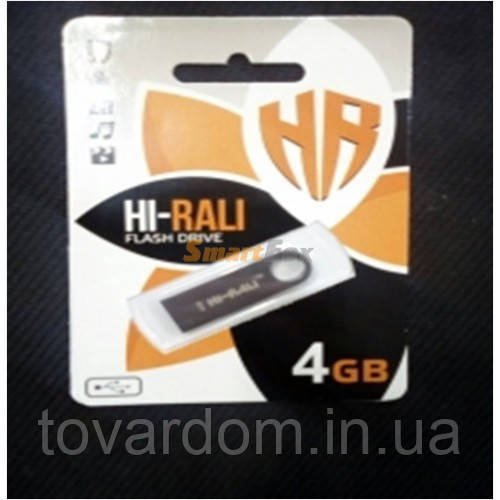 Флешка Hi-Rali 4GB Rocket series Black