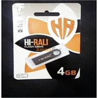Флешка Hi-Rali 4GB Rocket series Black