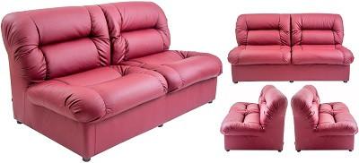 Диван двухместный Визит темно-розовый - картинка